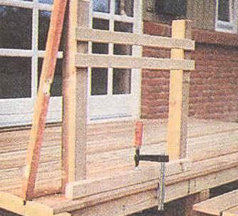 Как сделать крыльцо на даче своими руками из дерева как крепить брусы 5